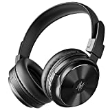 OneOdio A11 Bluetooth Headphones, Wireless Over-Ear Headphones with Bass Up EQ Mode, HiFi Stereo Headphones with Microphone Compatible for Travel, Home Office Foldable Comfortable