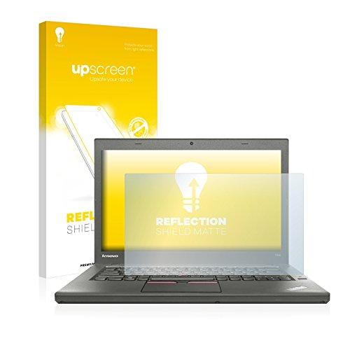 upscreen Entspiegelungs-Schutzfolie kompatibel mit Lenovo ThinkPad T450 Non-Touch – Anti-Reflex Bildschirmschutz-Folie Matt