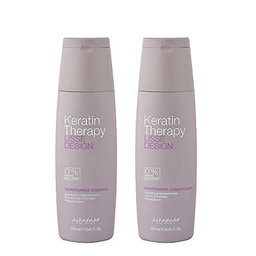 Alfaparf Lisse Design Keratin Shampoo & Conditioner 2x 250ml by AlfaParf