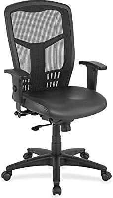 Lorell Adjustable Executive Chair, Black