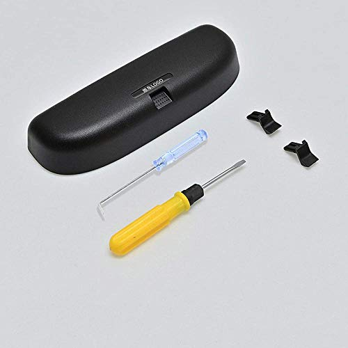 ZHAOOPRelaxToday - Caja de almacenamiento para gafas de sol para Toyota Levin, color negro