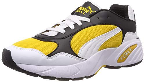 Puma Unisex-Erwachsene Cell Viper Sneaker, Weiß(Weiß (Puma White-Spectra Yellow)), 43