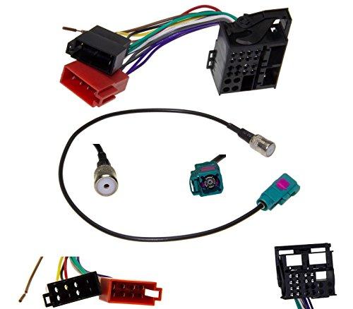 Radio Antennenadapter ISO Adapter Kabel Quadlock MOST Stecker RCD 200 300 310