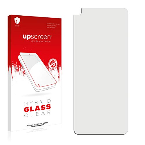 upscreen Hybrid Glass Screen Protector compatible with Lenovo K12 Pro - 9H Glass Protection