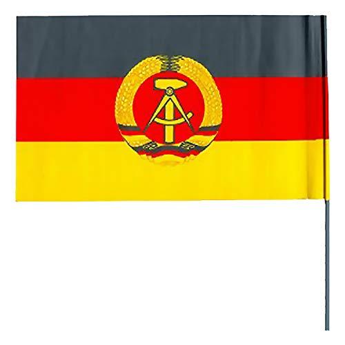 Papierfahne DDR Winkelement - DDR Produkte - für Ostalgiker - Ossi Produkte