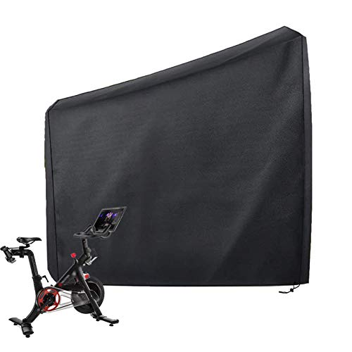 FANDGOK Exercise Bike Cover,Protective Cover for Peloton Bike,Can Be Used Indoors or Outdoors, Waterproof and Dustproof. Compatible with Peloton Bike