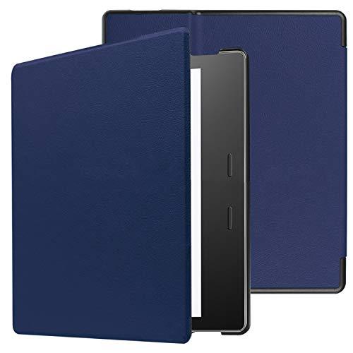 EKH Funda Resistente al Agua para Kindle Oasis - Funda Inteligente de Piel sintética de Primera Calidad para Kindle Oasis [7 Pulgadas, 9a / 10a generación]