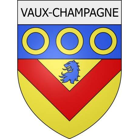 Vaux-Champagne 08 City Sticker Wappen selbstklebend – Größe: 17 cm