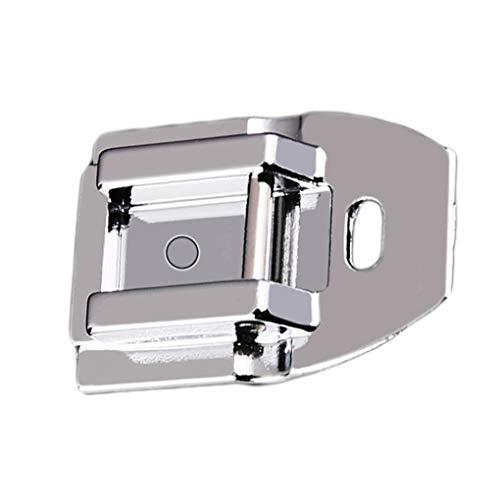2 STKS Metalen Huishoudelijke Naaimachine Onderdelen naaivoet, Metalen ritsvoet Naaivoet Accessoires Onzichtbare Ritsvoet Naaivoet
