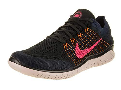 Nike Men s Running Shoes  Multicolour Black Flash Crimson Orange Peel 068  11 UK