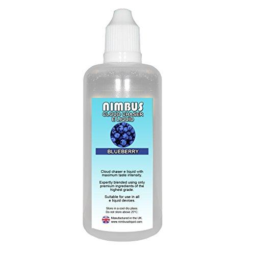100ml Blueberry E Liquid 80/20 Cloud Chaser Vape Juice Sub Ohm Juice Shisha...