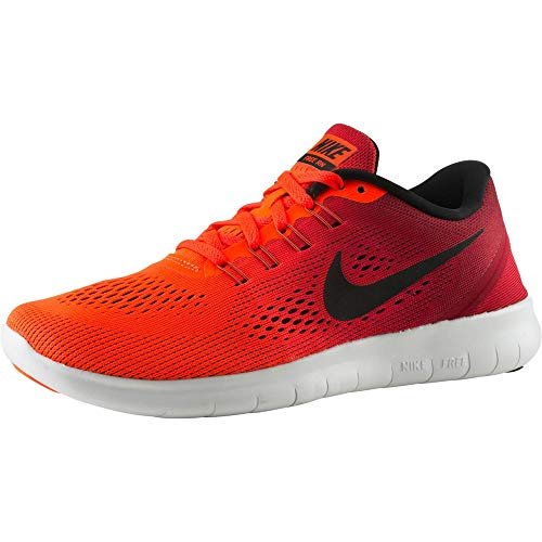 Nike Free RN Scarpe da corsa da uomo, (Multicolore Total Crimson Black Gym Red White), 36 EU