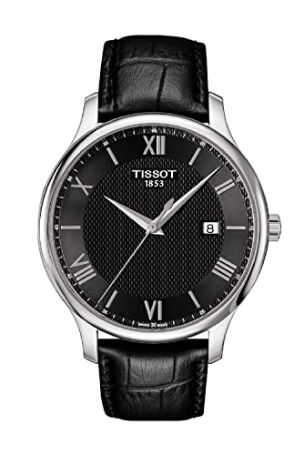 Tissot Stock Reloj Análogo clásico para Mujer de Cuarzo con Correa en Cuero T0636101605800