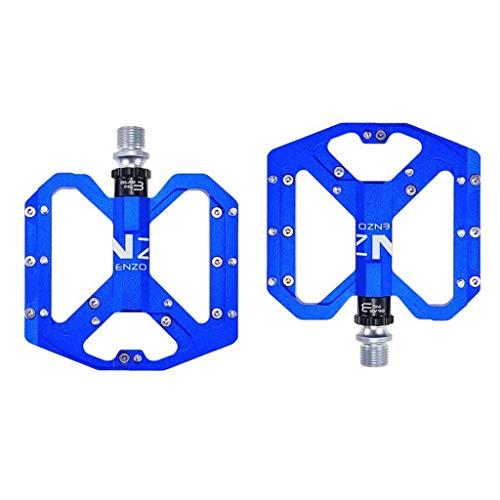 XYXZ Pedales de Plataforma para Bicicleta Pedales de Bicicleta, Aleación de Aluminio Ligero con rodamiento Sellado Antideslizante Pedales de Plataforma de Bicicleta universales de 9/16'Cicl