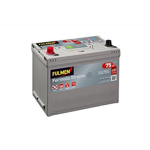 Starterbatterij Fulmen fa755, 12 V, 75 Ah, 630 A