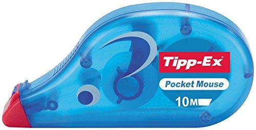 Tipp-Ex 095973 – Cinta Correctora, Azul, 4.2 mm x 10 m