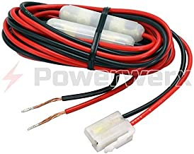 Powerwerx OEM-FM-CAB Power Cable for FM Mobile Radios fits Powerwerx DB-750X, Yaesu, Kenwood & Icom