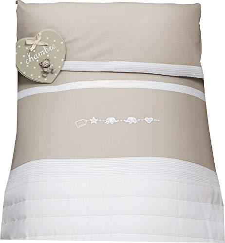 Dilibest by Picci Parure de lit pour lit bébé et lit bébé Mod. 15 Miro