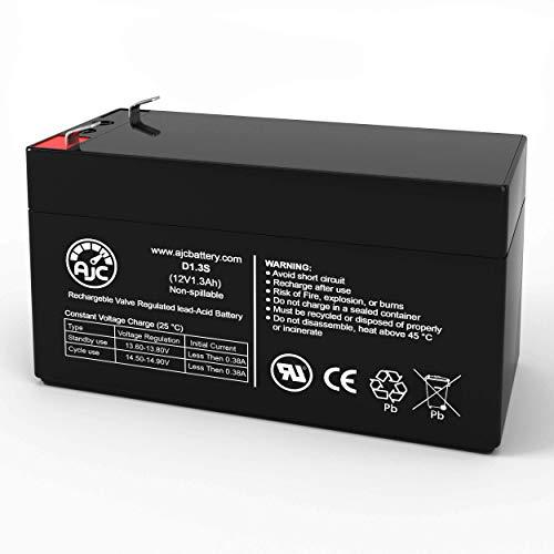 Batterij voor kinderwagen MK ES1.2-12 (12 V 1,3 Ah) 12 V 1,3 Ah - Reserveonderdeel van het merk AJC®