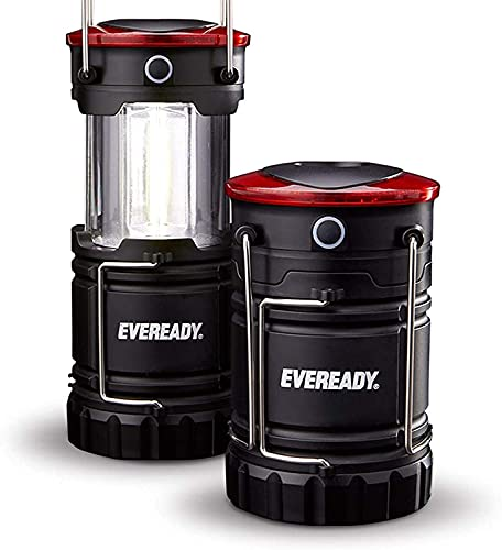 Energizer Eveready Collapsible Camping LED Laterne, 2er-Pack