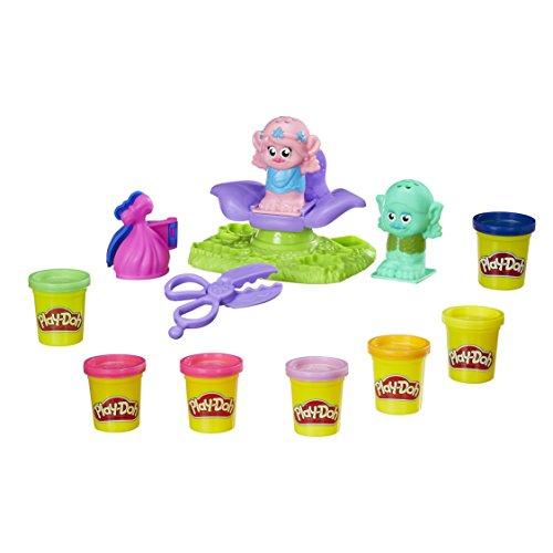 Hasbro Play-Doh B9027EU4 - Trolls Friseursalon, Knete