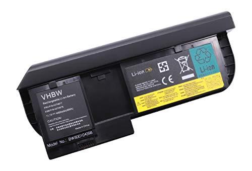 vhbw Batterie 4400mAh pour Lenovo ThinkPad X220, X220i Tablet, X220t, X230t comme 0A36285, 0A36286, 0A36316, 42T4877l, 42T4879, 42T4881, FRU 42T4881.