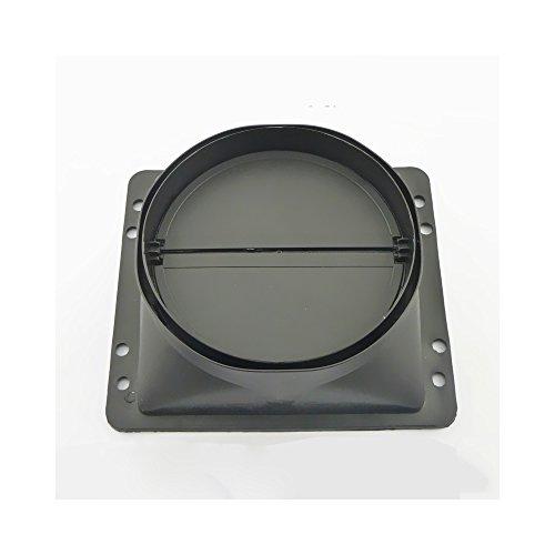 Earth Star OD 0,15Meter zum Aufhängen Kapuze Accessoires Serie Kapuze Rückschlagventil Smoke Machine Auslass Rückschlagventil Auslaßventil