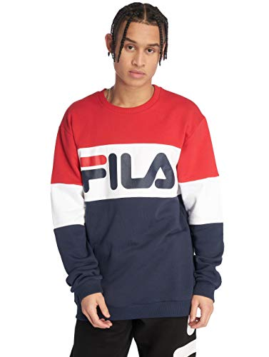 Fila Straight Blocked Men's Sweatshirt Multicolor, tamaño:L