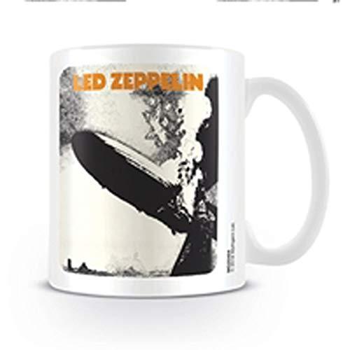 LED ZEPPELIN taza de cerámica mg25404315ml/11oz-album I, Multicolor