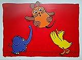 Poster+ Die Sendung mit der Maus - Die Maus und der