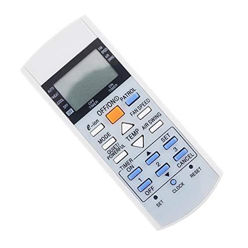 Ueohitsct Mando a distancia universal para aire acondicionado Panasonic A75C3298 A75C2817 A75C3182 A75C2835 A75C3184