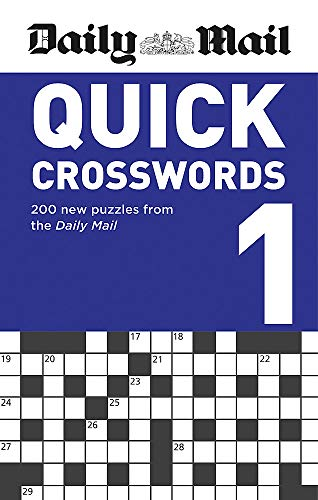 Daily Mail Quick Crosswords Volume 1 (The Daily Mail Puzzle Books, Band 116)
