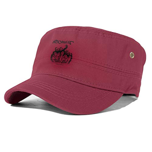 Arctic Monkey Humbug Unisex Sun Hat Solid Color Adjustable Flat Top Hat Baseball Cap Breathable and Comfortable