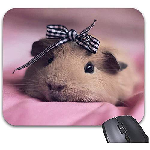 Smity niedliche Meerschweinchen-Mausunterlage 30 * 25 * 0,3 cm Mauspad Mode entworfen Mousepads Trendy Office Desktop Zubehör
