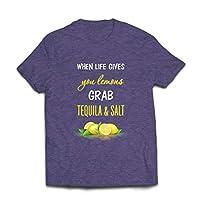 Vous voulez un t-shirt plein d'esprit ? Nous allons pimenter votre garde-robe avec notre tenue de citations drôles de la vie. Réorientez vous, vos projets et vos attentes et soyez positif. Réglez tous les problèmes avec notre tenue de motivation ! No...