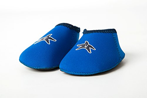 Yoccoes Yoccoes Hausschuhe von Strand Baby Shore Feet Blau S (6-12 Monate)