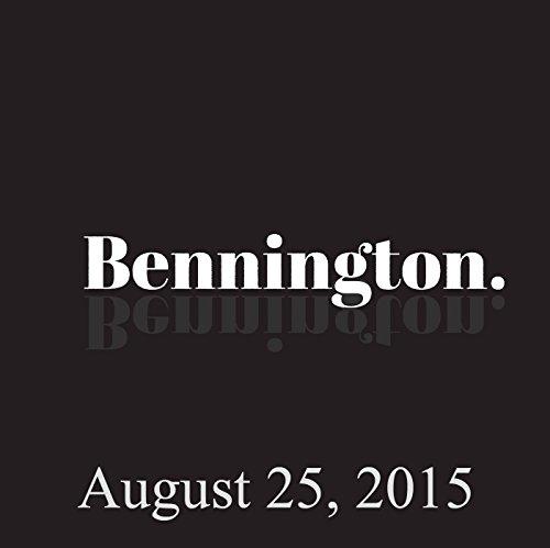 Bennington, Joe Machi, August 25, 2015 audiobook cover art