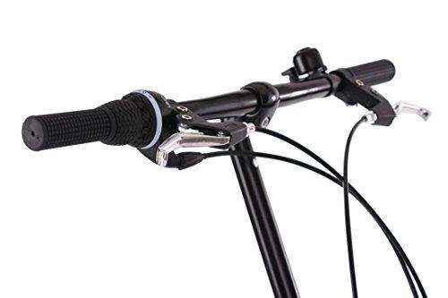 KS Cycling Faltrad Foldtech 6 Gänge Fahrrad, schwarz, 20 Zoll - 5