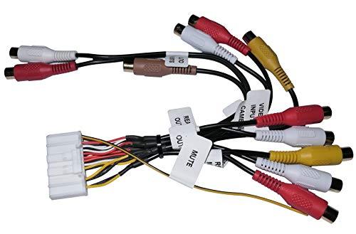 AERZETIX: Câble adaptateur RCA 32 broches pour autoradio - C12083