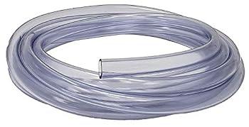 Rollerflex Food Grade Crystal Clear Vinyl Tubing 5/16-Inch ID x 7/16-Inch OD 10-FT