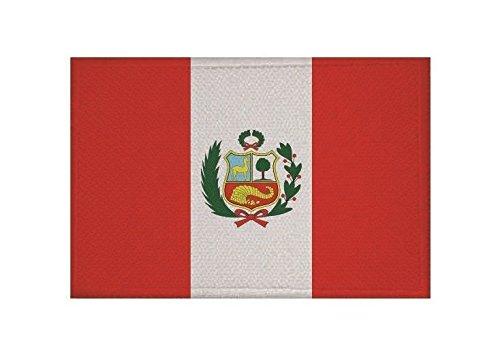 U24 Aufnäher Peru Fahne Flagge Aufbügler Patch 9 x 6 cm
