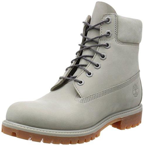 Timberland Mens 6 in Premium Flint Gray Waterbuck Boot - 9 M