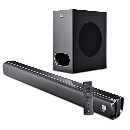 iBall Cinebar 200DD - 120 Watts Dolby Digital Bluetooth Soundbar with Subwoofer