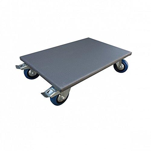 Möbelroller 400x600 mm Allzweckroller Transportroller Rollbrett 400 kg