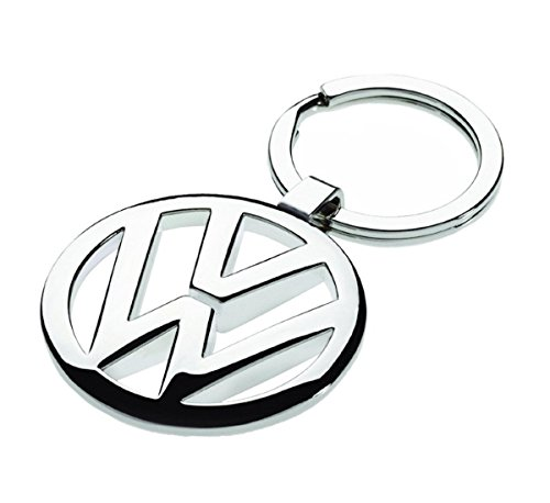 Chrome 3D Car Logo Keyring/Keychain for Volkswagen VW
