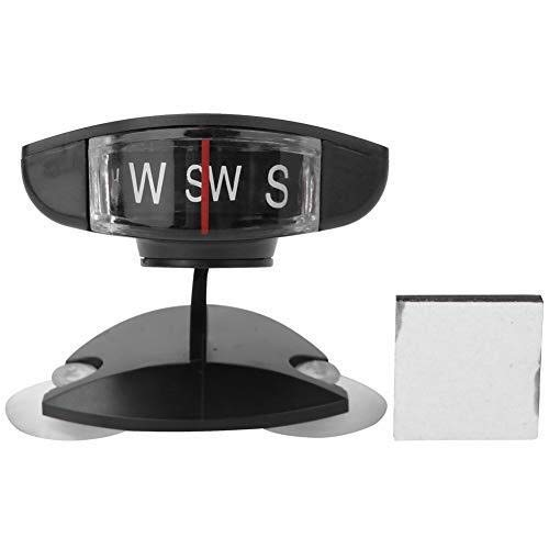 Car Mount Compass Ball, Multi-Functional Sea Marine Navigation Bracket with Adhesive and Delicate Decoration, Perfect for Finding Direction, Universal Dashboard Dash Stand Compass for Most Boat Car Tr