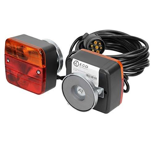 ECD Germany Set Luces Traseras Halógenas 12V Iluminación 21W Cableado Conector de...