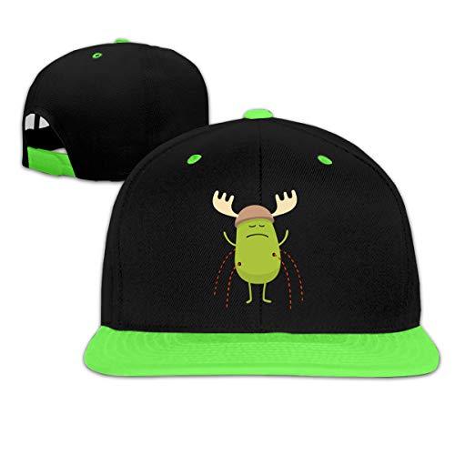 Bandcey - Sombreros unisex Geek Dumb Ways To Die para niños para niños y papá sombreros ajustables