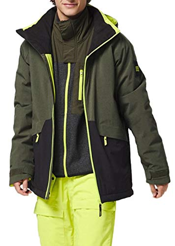 O'NEILL Pm Quartzite Jacket-6058 Forest Night-L Giacca Neve, Uomo, Forest Night, L