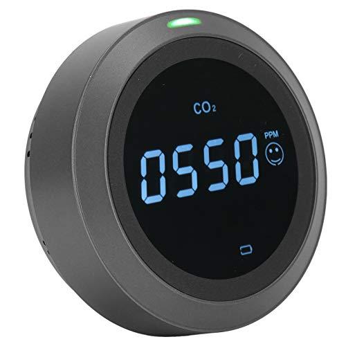 CO2-Messgerät, Kleiner intuitiver tragbarer ABS-Leichtgewicht-Kohlendioxiddetektor für den Außenbereich